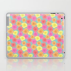 Spotty Rose Laptop & iPad Skin