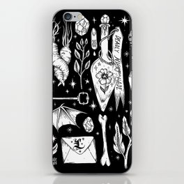 into the WITCH'S GARDEN iPhone Skin