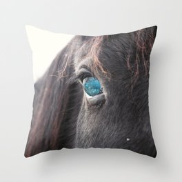 Stars In Her Eyes Throw Pillow