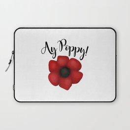 Ay Poppy! Laptop Sleeve