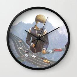 Chasing Cars Wall Clock