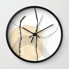 Lines, Circles & Dots Wall Clock