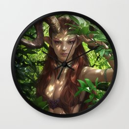 Bariaur In The Forest Wall Clock