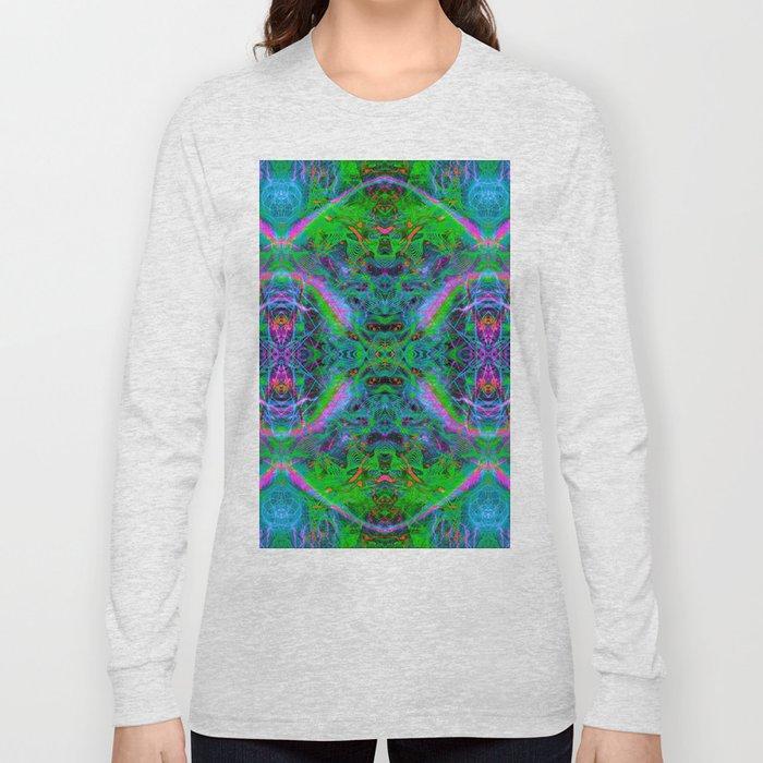 Techno Electric IV (Ultraviolet) Long Sleeve T-shirt