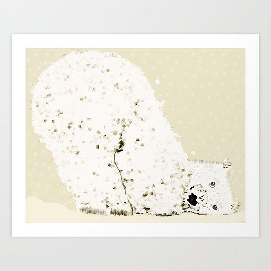bears life 2 Art Print