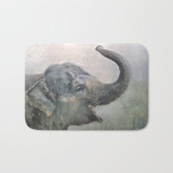 Happy Elephant! Bath Mat