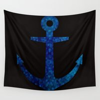sailor Wall Tapestries featuring Sailor by Whirlwind Mind