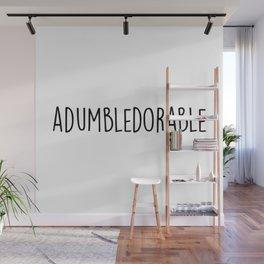 Adumbledorable Wall Mural