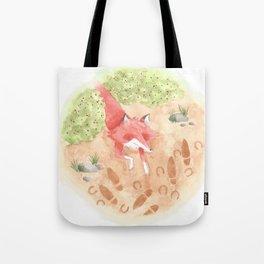 Epa, the Fox King 3 Tote Bag