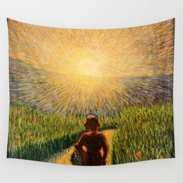 Sicilian sunset by Pippo Rizzo Wall Tapestry