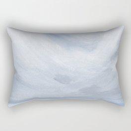 Unclear - Moody Gray Ocean Seascape Rectangular Pillow