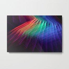 Light Dreamscape - Rainbow Road Metal Print