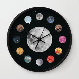 Full Moons Wall Clock