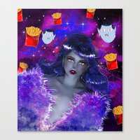 marceline Canvas Prints featuring Marceline by Sara Eshak