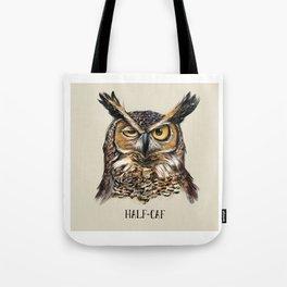 HALF-CAF Tote Bag