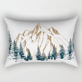mountain # 4 Rectangular Pillow