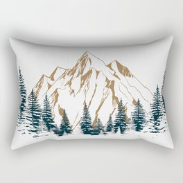 mountain # 4 Rectangular Pillow