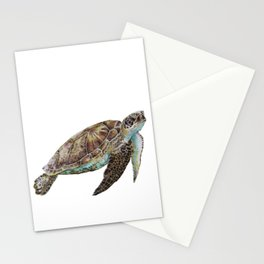 Meryl the Turtle Stationery Cards