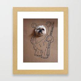 Ch-ewok Framed Art Print