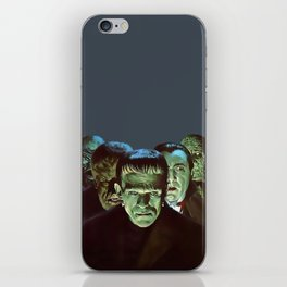Famous Monsters Gang iPhone Skin