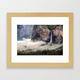 Bridalveil Falls Framed Art Print