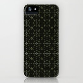 fleur-de-lis iPhone Case