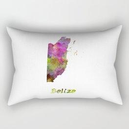Belize in watercolor Rectangular Pillow