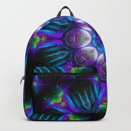 Neon Mandala 2 Backpack