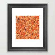 Chameleonic Panelscape  - Colours from Alice Rebecca Framed Art Print