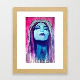 Chola Selfie Framed Art Print
