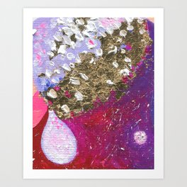 Abstraction World #1. Part 3 Art Print