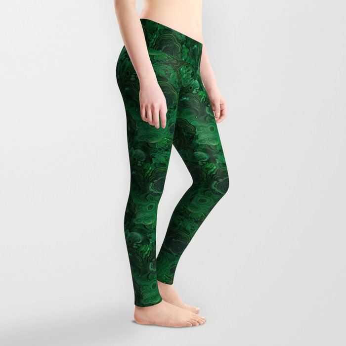 malachite Leggings