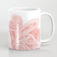 paisley Mugs featuring Paisley by Laurie Mildenhall