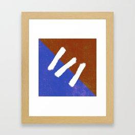 Stitch N Paint Framed Art Print
