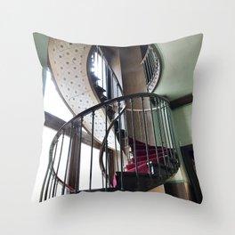 Going Up Throw Pillow