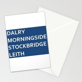Edinburgh Neighbourhoods Stationery Cards