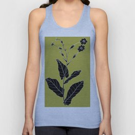 Rock Pituri (Also known as Bone Marrow Tobacco) - Nicotiana gossei Unisex Tank Top
