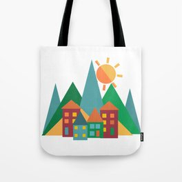 Summer in the Alps Tote Bag