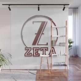 Zeta Wall Mural