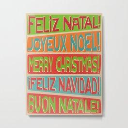 Christmas II Metal Print