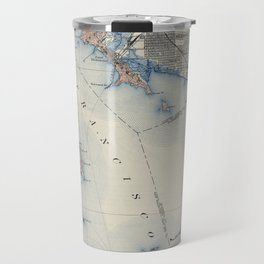 Vintage Map of San Francisco California (1914) Travel Mug