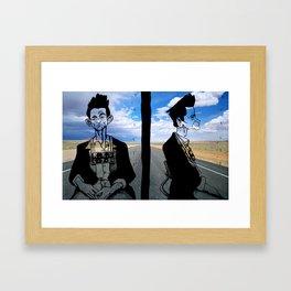 jhonny Cash Framed Art Print
