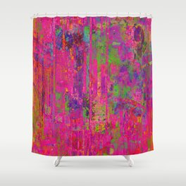 City of Columns Shower Curtain