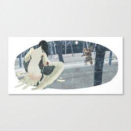 Crane Wife Canvas Print