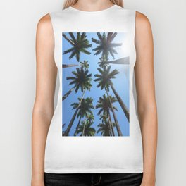 California Palm Trees Biker Tank