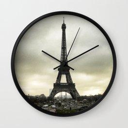 Le Tour Eiffel II - Paris Wall Clock