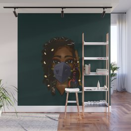 Mask On Version 1 Wall Mural