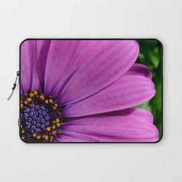 Purple Osteospermum Laptop Sleeve