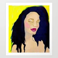 Glam Girl Art Print