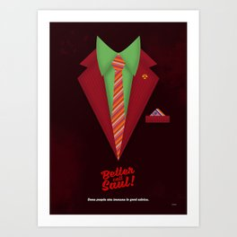 "Better Call Saul - Suit No. #5 - James Morgan ""Jimmy"" McGill's Style. Art Print"